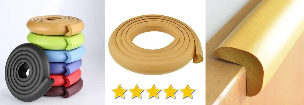 Protector de esquinas para niños, goma protectora adhesiva para niños