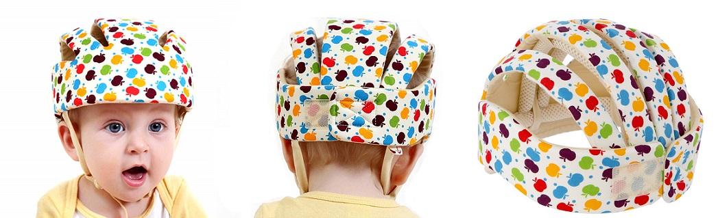 Gorra Anti golpes bebes, casco de goma espuma bebes