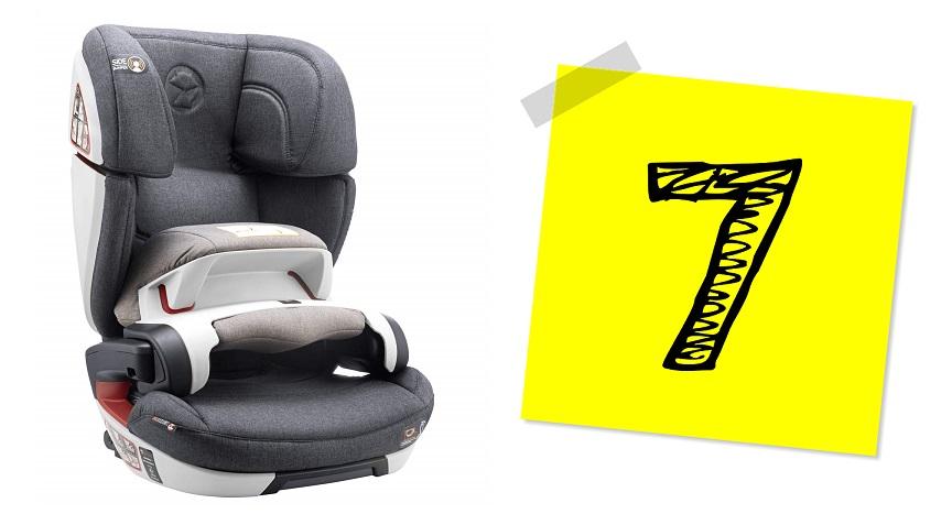 Silla de Coche Sweety Fox Grupo 1 2 3 con Isofix, silla coche grupo 1, silla coche grupo 2,